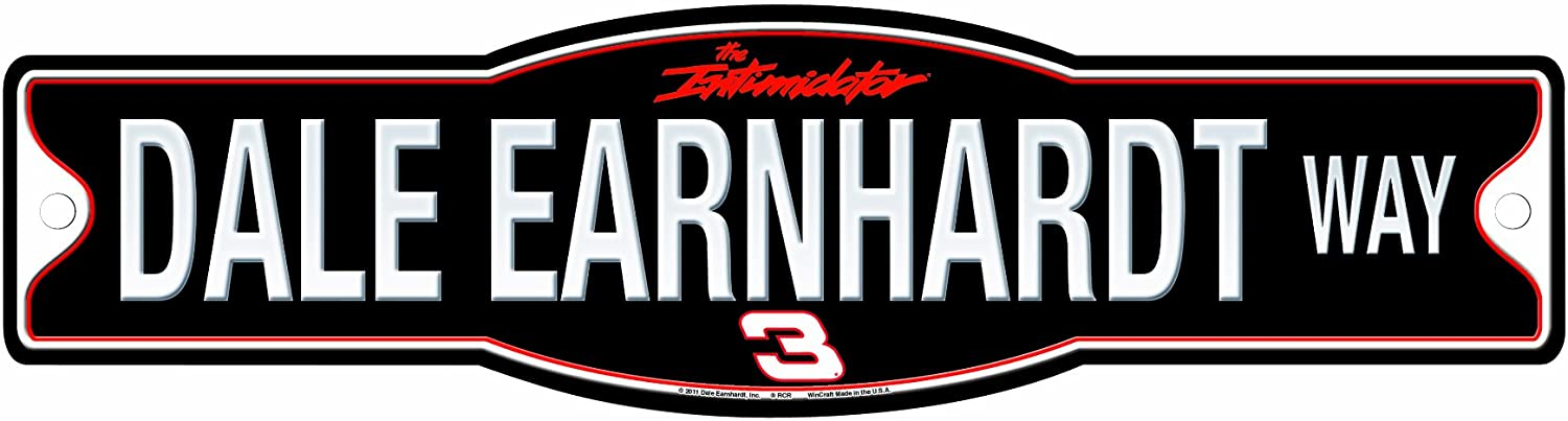 NASCAR Dale Earnhardt 4.5-by-17 Sign