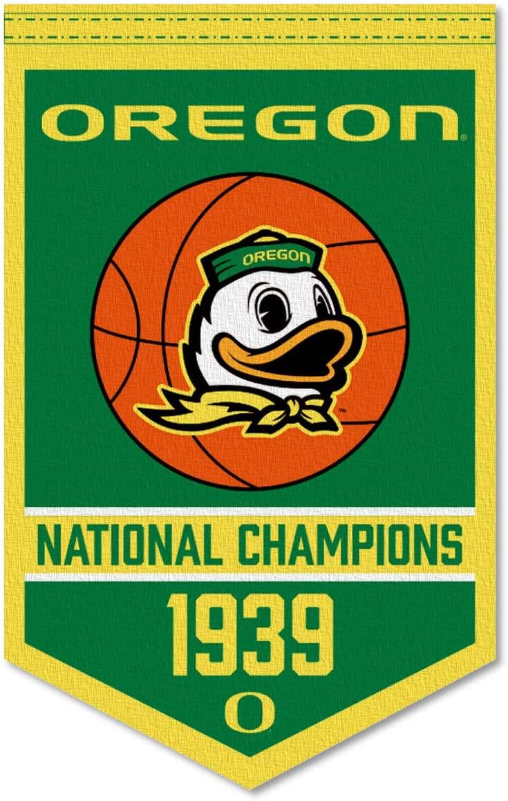 Oregon Ducks Basketball National Champions Banner