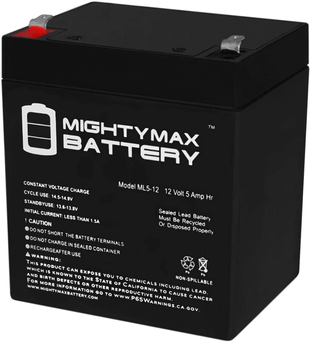 Mighty Max Battery 12V 5AH SLA Battery for Fimco 8 Gallon Super Spot Sprayer Brand Product