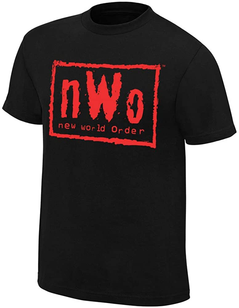 WWE Authentic Wear NWO Wolfpac Black & Red T-Shirt 4XL