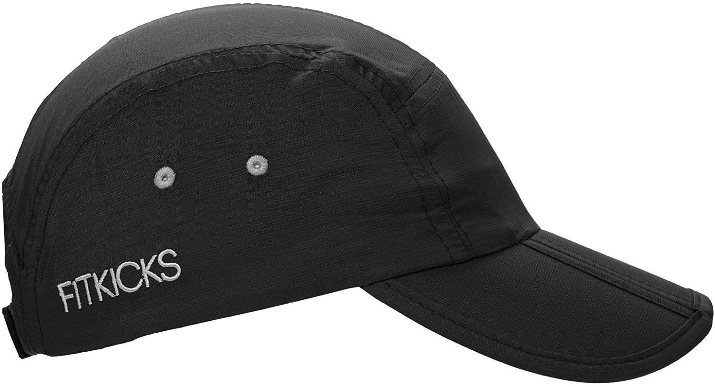 FitKicks Folding Adjustable Cap UPF 50+ Active Lifestyle Hat Unisex Headgear