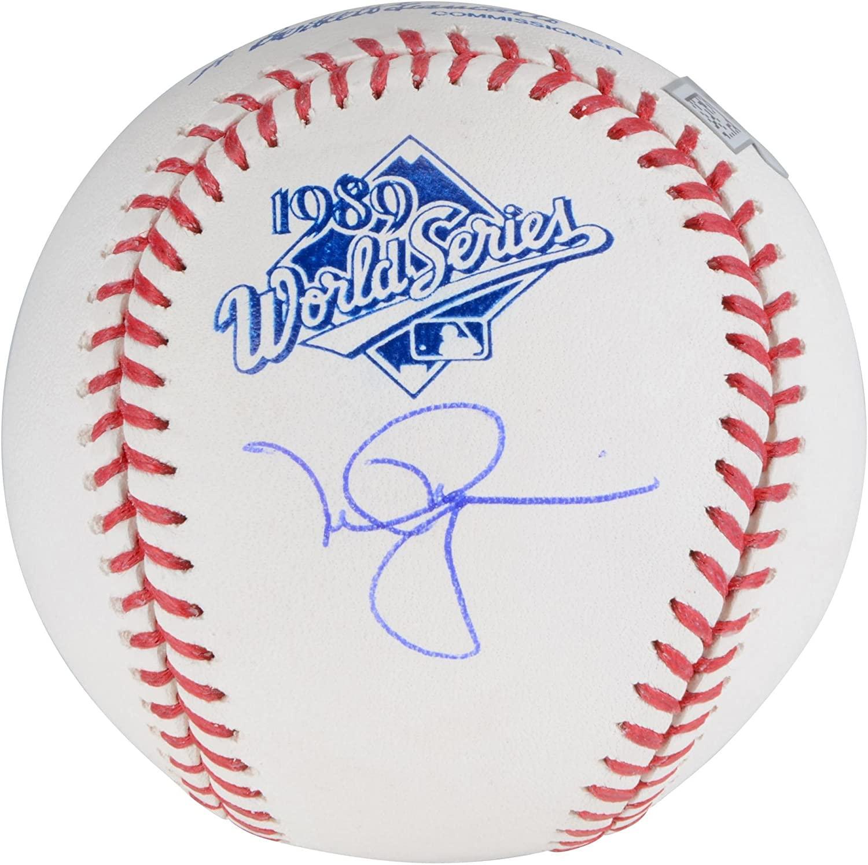 Mark McGwire Oakland Athletics Autographed 1989 World Series Logo Baseball - Autographed Baseballs