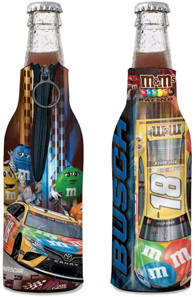 WinCraft Kyle Busch 2020 M-Ms Bottle Cooler Hugger 12oz
