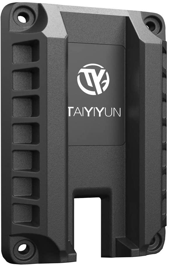 Taiyiyun Magnetic Gun Mount,Gun Magnet Mount Rack Vault Storage,Magnetic Handgun Holder Defense Firearm Accessories Quick Load for Home,Rifles,Car,Wall,Cashier,Truck,Vehicle