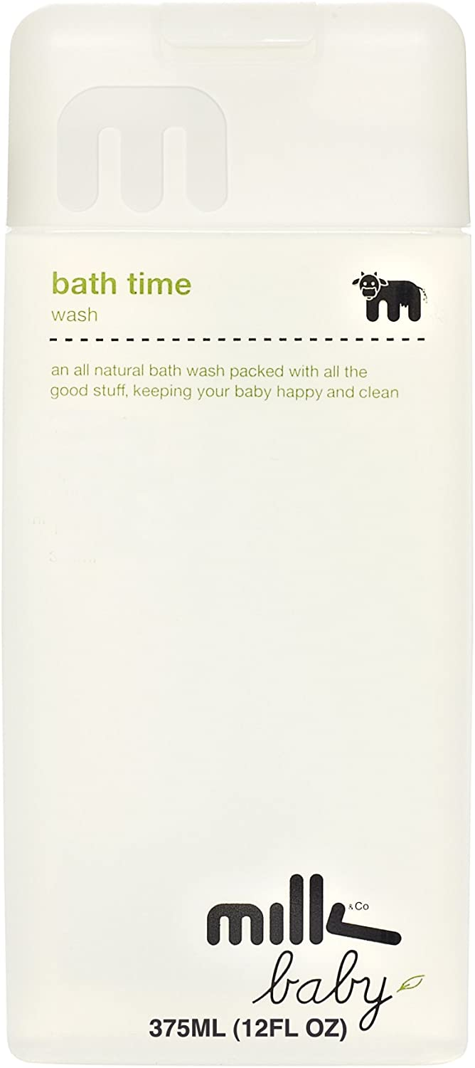 Milk & Co. Baby and Children's Natural Allergy-Free Bath Time Wash, 12 Fluid Ounce