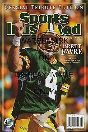Brett Favre Sports Illustrated Autograph Replica Poster - Career Commemorative - HoF!