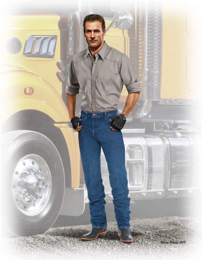 Masterbox Scale Model KIT Truckers Series. Stan (Long HAUL) Thompson 1/24 Master Box 24042