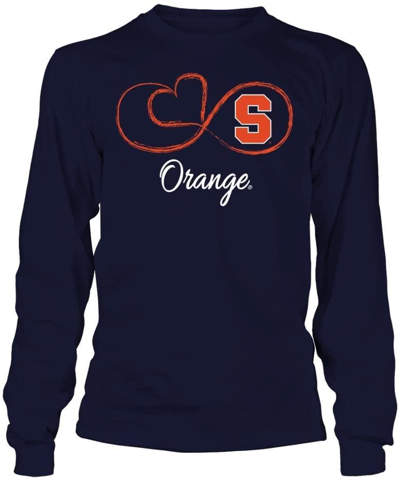 FanPrint Syracuse Orange Hoodie - Infinite Heart