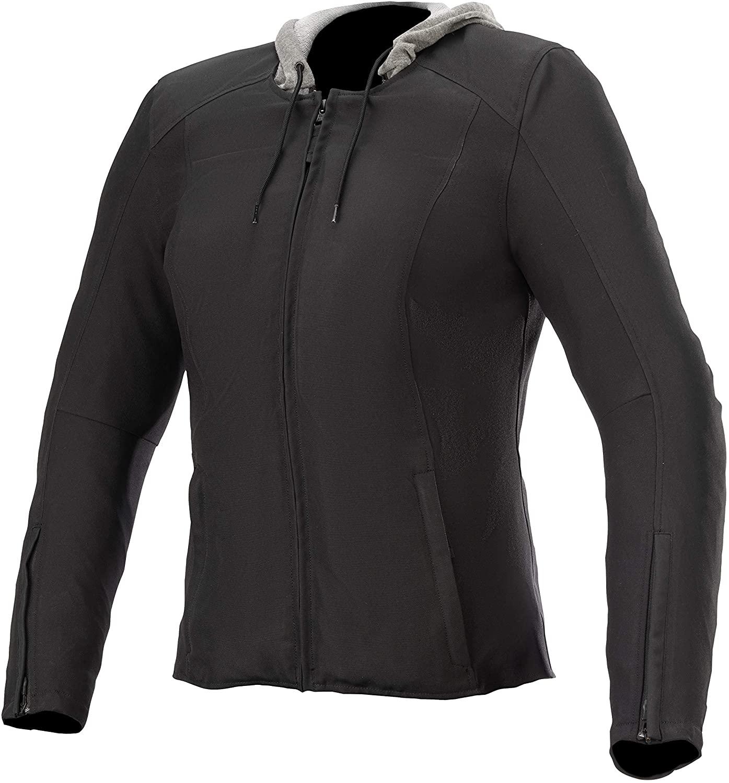Alpinestars Women's Bond Motorcycle Jacket, Black, Medium