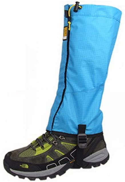 PANDA SUPERSTORE Ski Shoes Gaiters Snow Climbing Gaiter Boot Covers Sky Blue