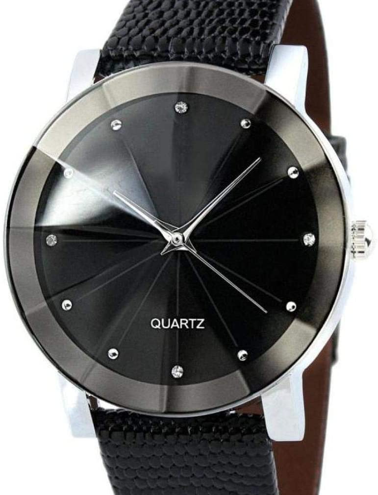 ICHQ Fashion Business Diamond Glass Belt Couples Pairs Table Casual Couples Table Male and Female Student Wristwatches