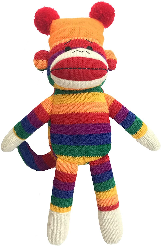 Lulubelles Power Plush George Sock Monkey