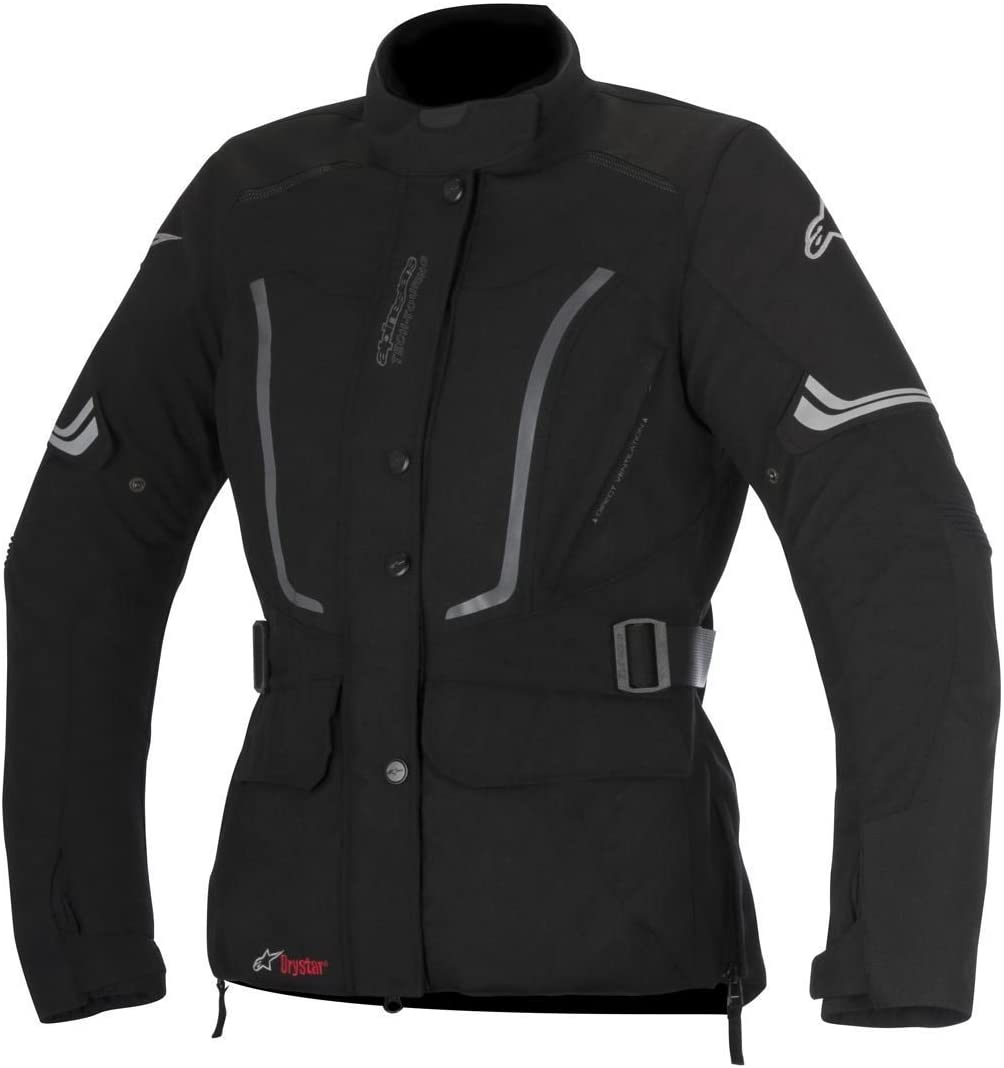 Alpinestars Women's Vence Drystar Jacket (Medium) (Black)