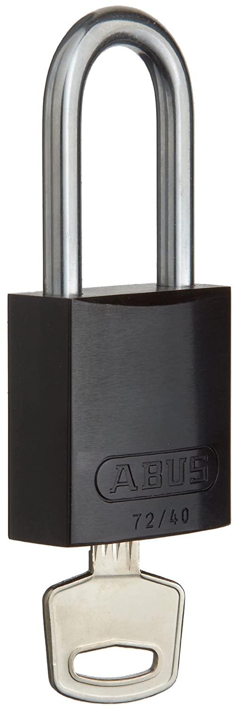Brady Aluminum Lockout/Tagout Padlock, Keyed Different, 1-3/5