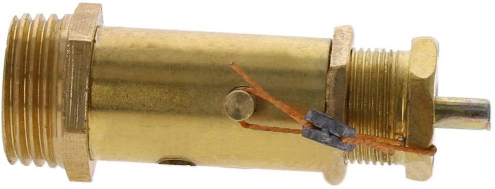 Othmro Safety Pressure Relief Valve Red for Air Compressor 20mm thread(10kg) 1pcs