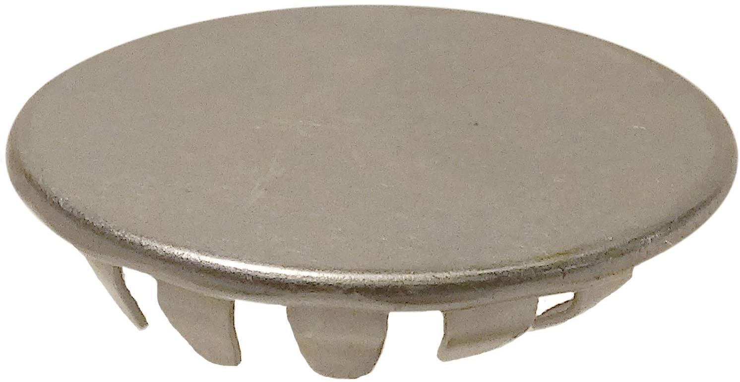 Stimpson Standard Hole Plug Steel Zinc Plated Durable, Reliable, Heavy-Duty Fits 7/8