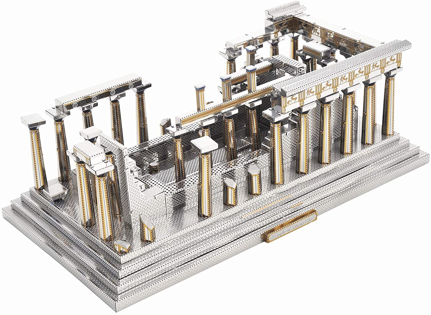 Microworld J048 Temple of Athena 3D Metal Puzzle Famous Architecture Model Building Kit…