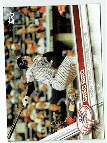 Greg Bird 2017 Topps Baseball 25 Card Lot Yankees #NYY-7 - Slabbed Baseball Cards
