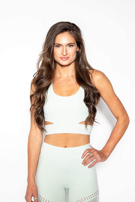 KadyLuxe Women's Anti-Gravity Cosmo Cut-Out Sports Bra