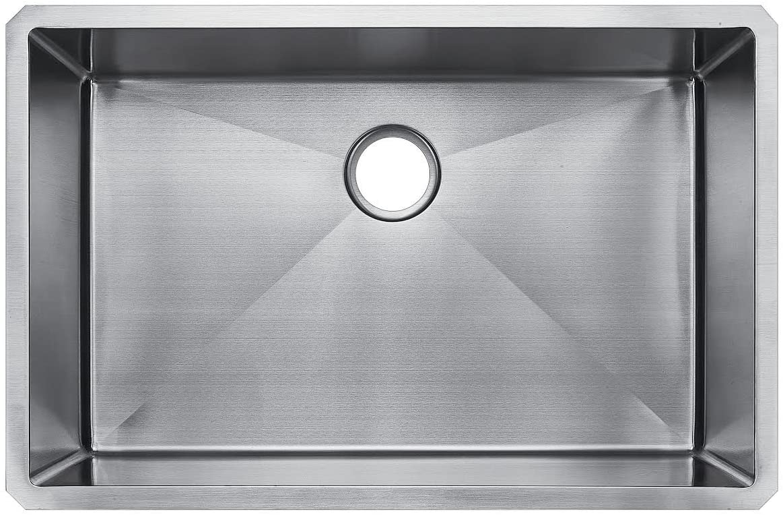 Starstar 32 X 19 Undermount 304 Stainless SteelKitchen Sink Single Bowl