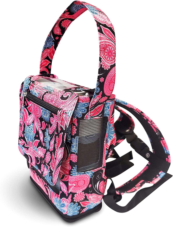 o2totes oxygo Next Backpack (Pink Paisley)