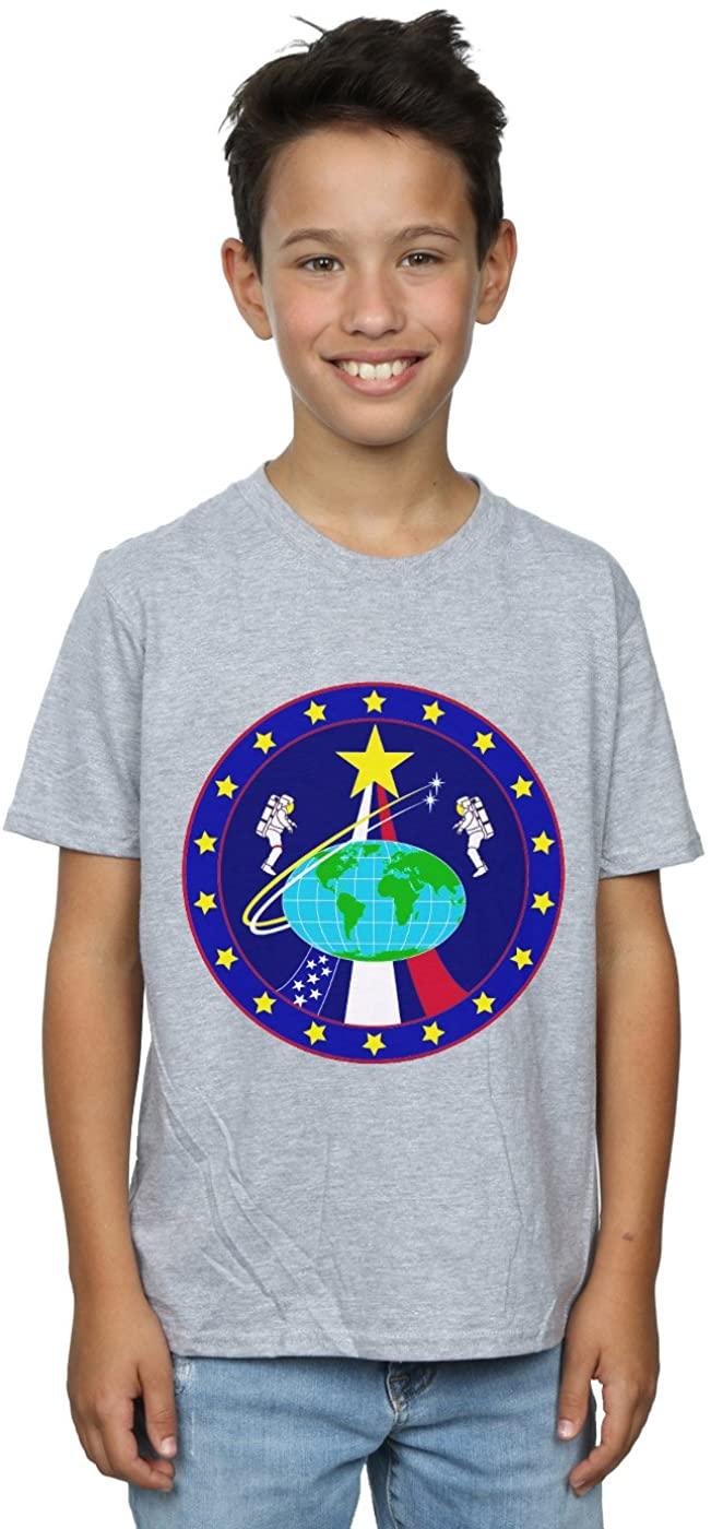 NASA Boys Classic Globe Astronauts T-Shirt