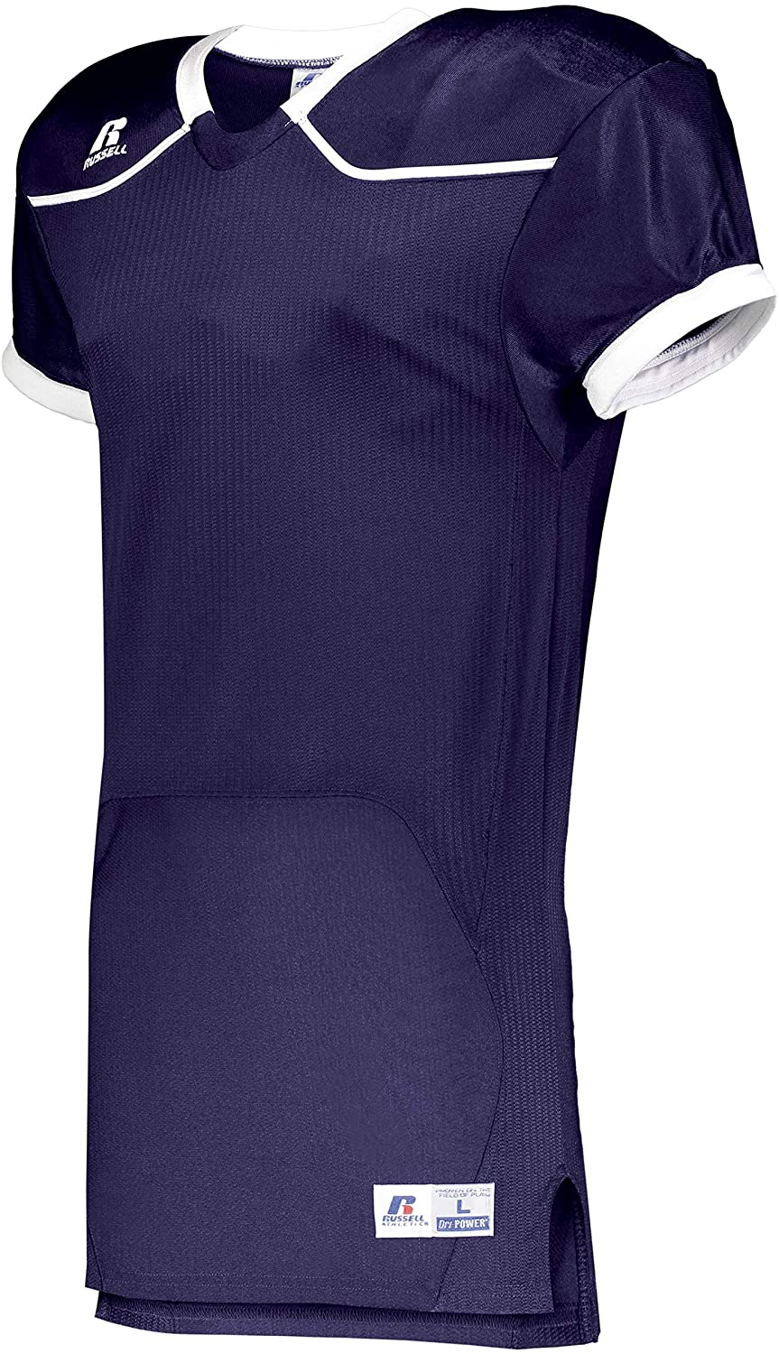 Russell Color Block Game Jersey (Home) - S57Z7H Purple/White