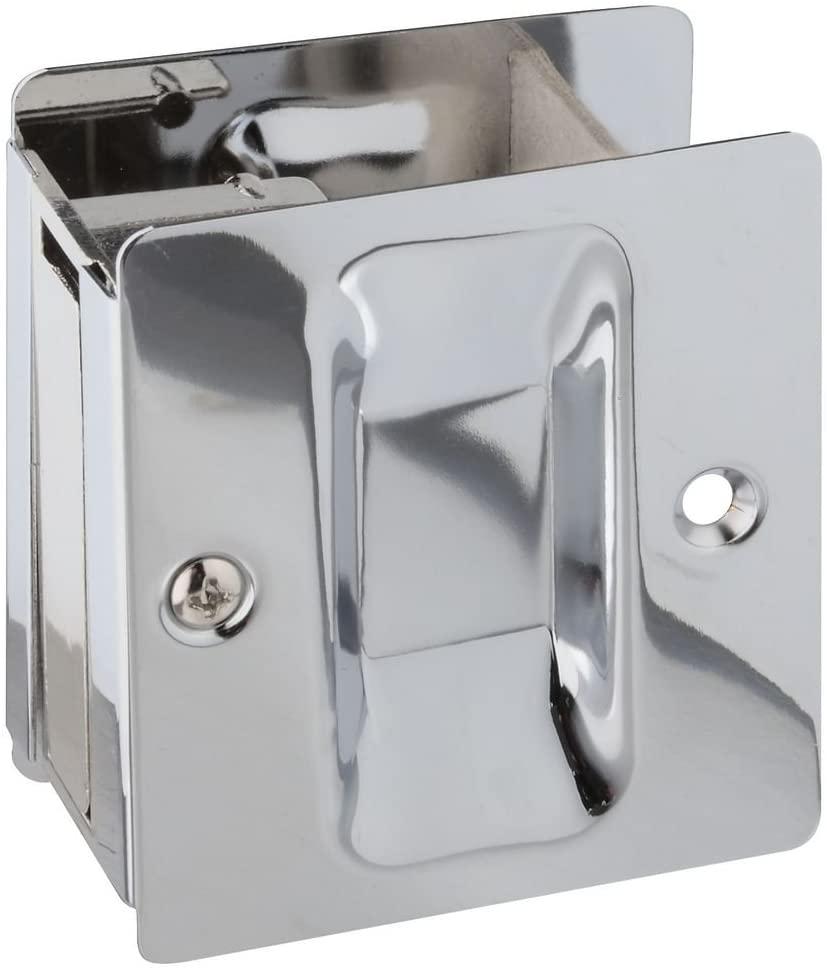 National Hardware N326-322 V1950 Pocket Door Pull in Chrome