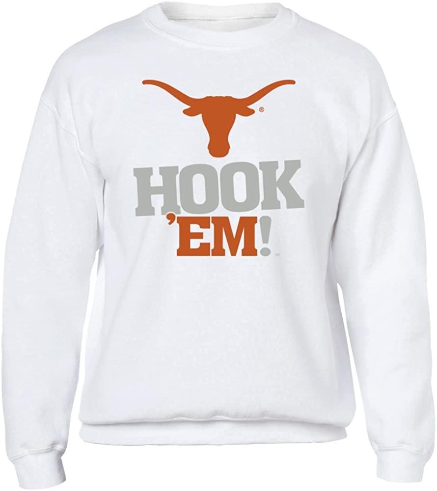 FanPrint Texas Longhorns Hoodie - Hook 'Em! #3