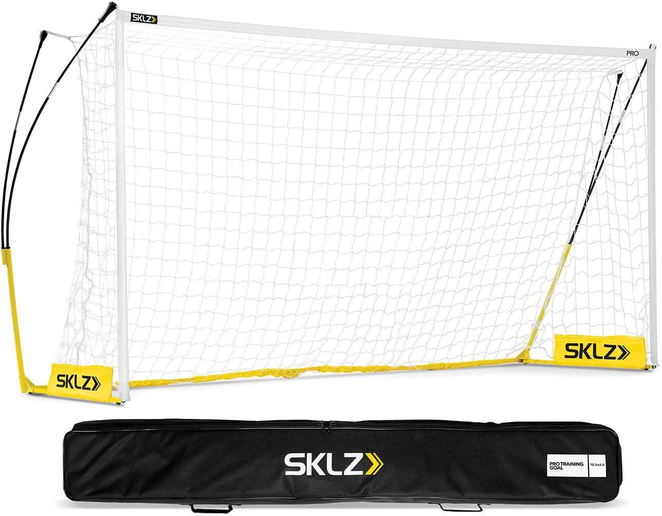 SKLZ Pro Training Lightweight Portable Soccer Goal and Net