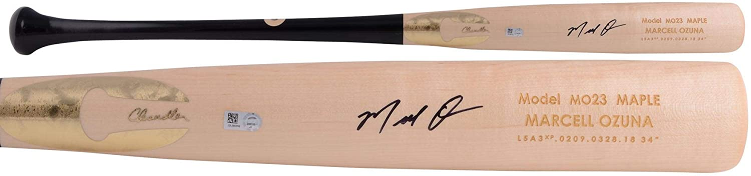 Marcell Ozuna St. Louis Cardinals Autographed Chandler Game Model Bat - Autographed MLB Bats