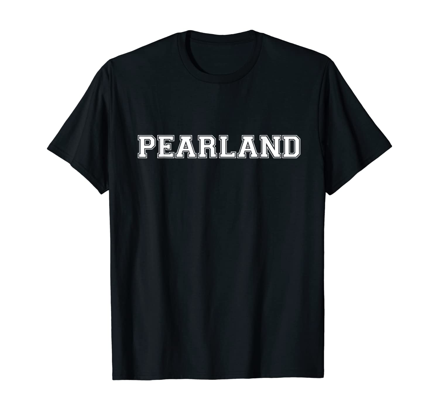 College University Varsity Style Pearland Texas TX State T-Shirt
