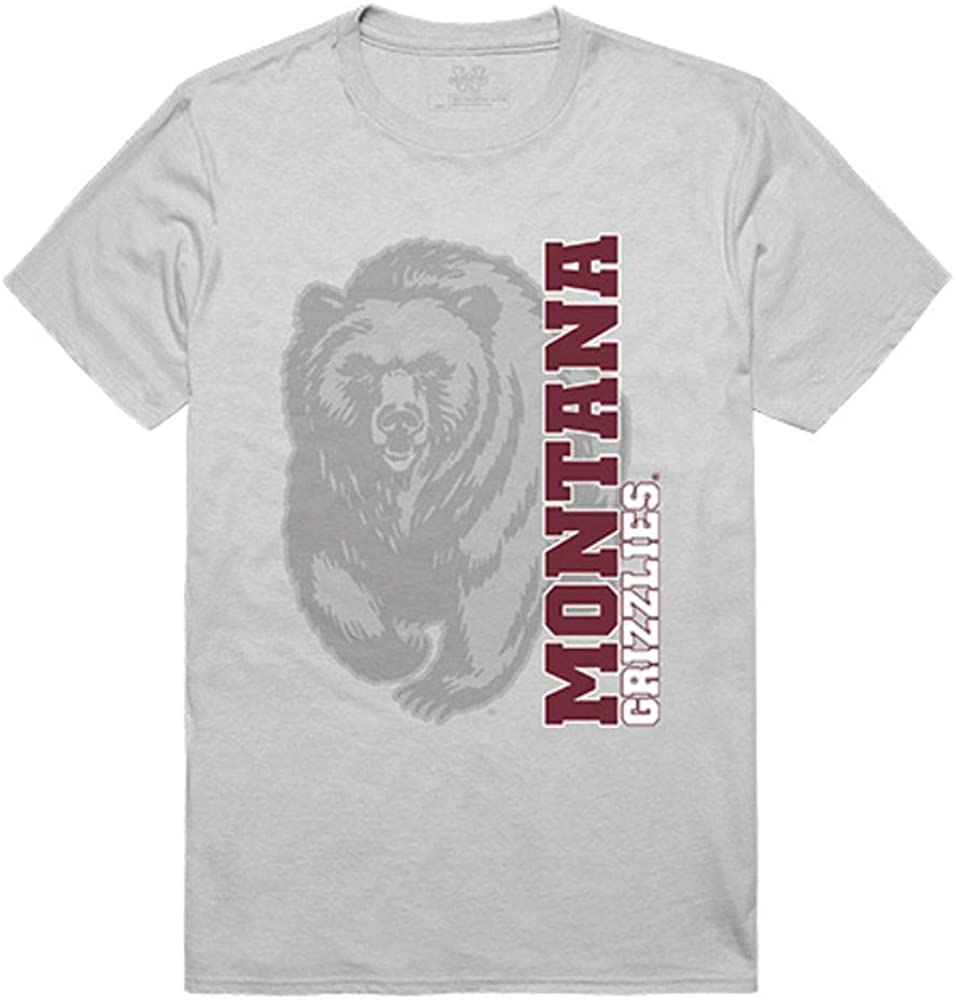 University of Montana Grizzlies NCAA Ghost Tee T-Shirt