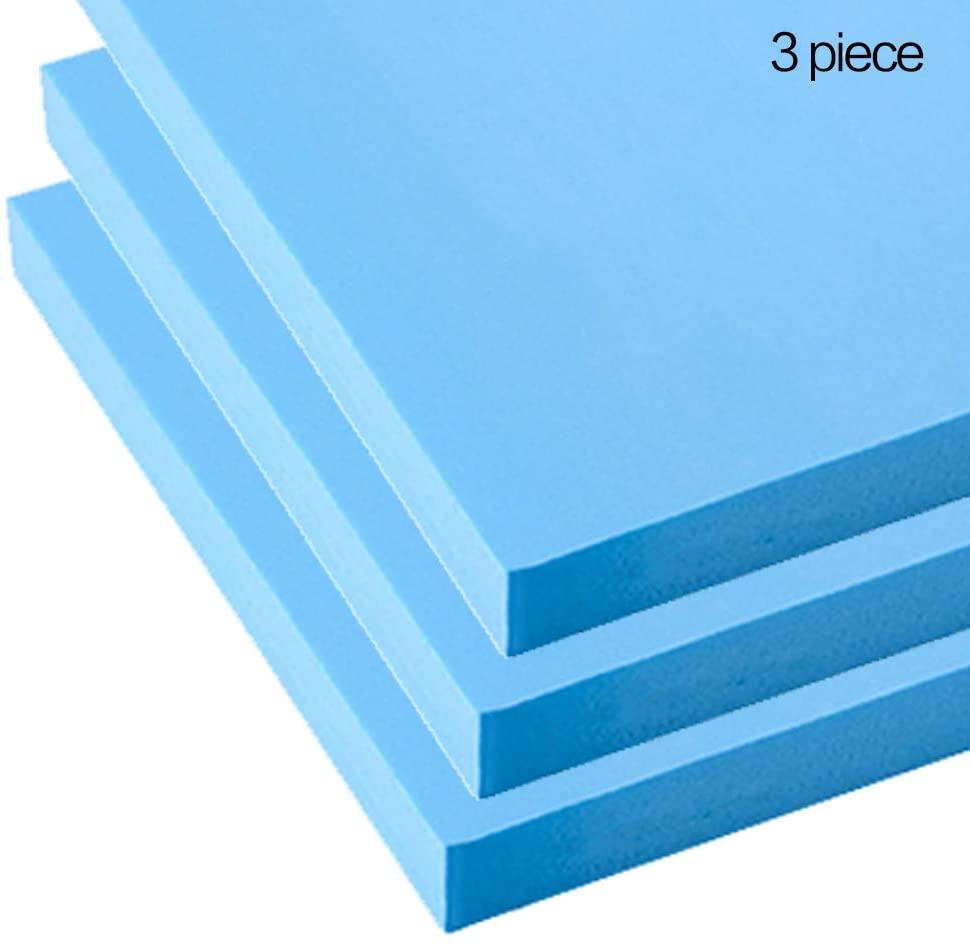 LOKIH Foam Board for Micro Landscape Production, Rocks Mountains 40X60cm/15.7X23.6Inch,Thick:2cm/0.8Inch,3 Pcs,Blue