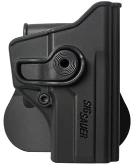 NEW BLACK IMI-Z1110 - Polymer Retention Roto Holster for Sig Sauer P250 Compact - FREE BONUS - New Traveling Kit