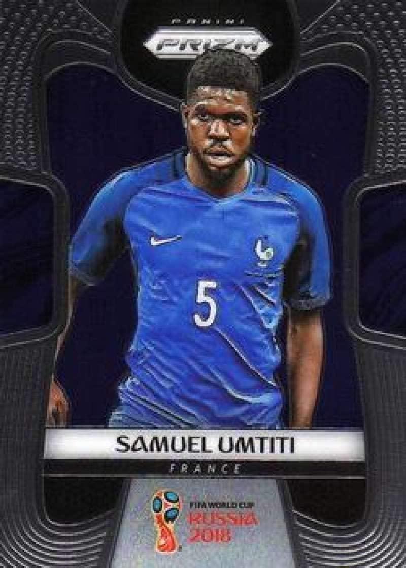 2018 Panini Prizm World Cup Soccer #86 Samuel Umtiti France Futbol Card