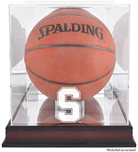 Stanford Cardinal Basketball Display Case   Details: Mahogany Base, Antique Finish, with Mirror Back