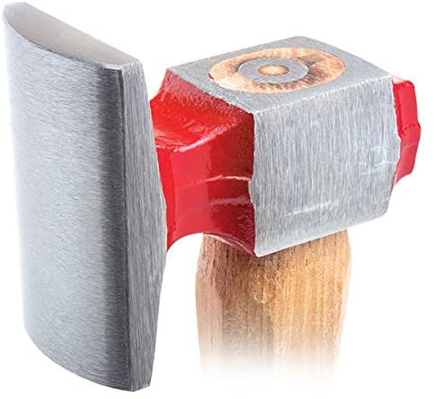 Fairmount Wide Dome Dressing Hammer Wood Handle Body Dinging With High Crown Round And Square Faces For Work Auto Repair & Metal Forming