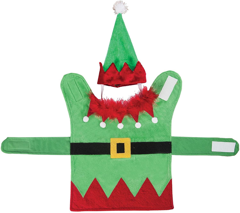Gallerie II Elf Christmas Xmas Pet Costume Green
