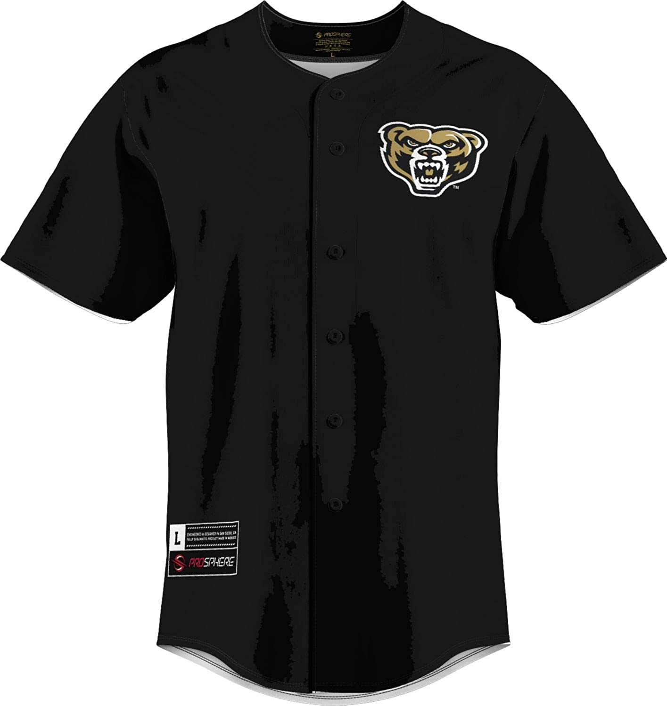 ProSphere Oakland University Men's Replica Baseball Jersey - Solid