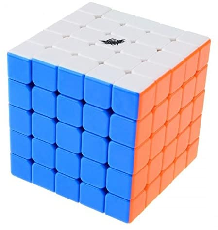 SnapX Cyclone Boys 5x5 Speed Cube Stickerless 63.5mm