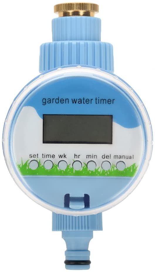 Eboxer Automatic Digital Aqua Timer Watering System Electronic Outdoor Waterproof Garden Irrigation Controller Water Timer with One Valve