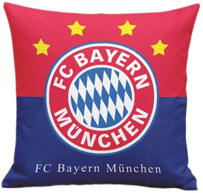 ERSSWUQMY Football Club Bayern Home Decoration Linen Hug Pillowcase, Not Including The Core