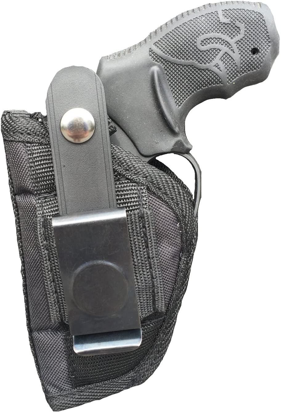 Nylon Belt or Clip on Gun Holster Fits Taurus Judge 4510 TKR, 431, 605 (5 Shot) with 3