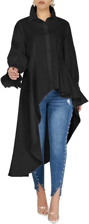 Women's Casual Chic Blouse Short Sleeve Round Neck Dovetail Hem T-Shirt Dress