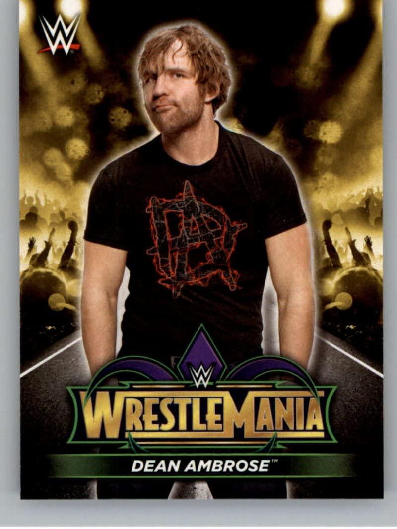 2018 Topps Road to WrestleMania Road to WrestleMania 34#R-12 Dean Ambrose NM-MT