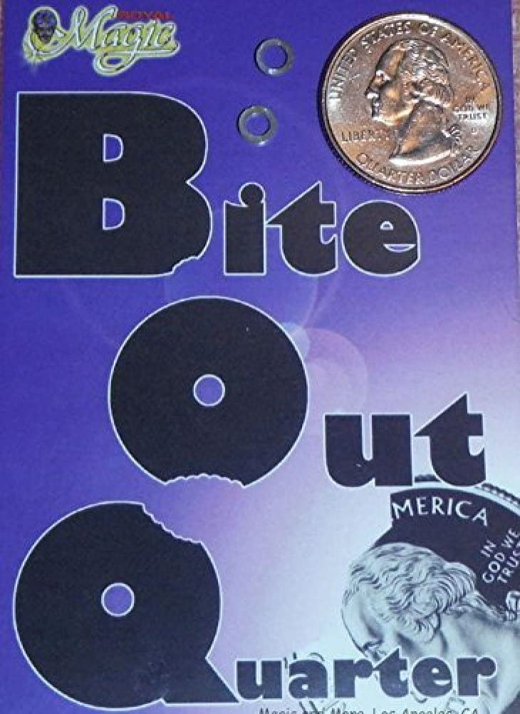 Royal Magic Bite-out Quarter From A Wildly Popular Trick!
