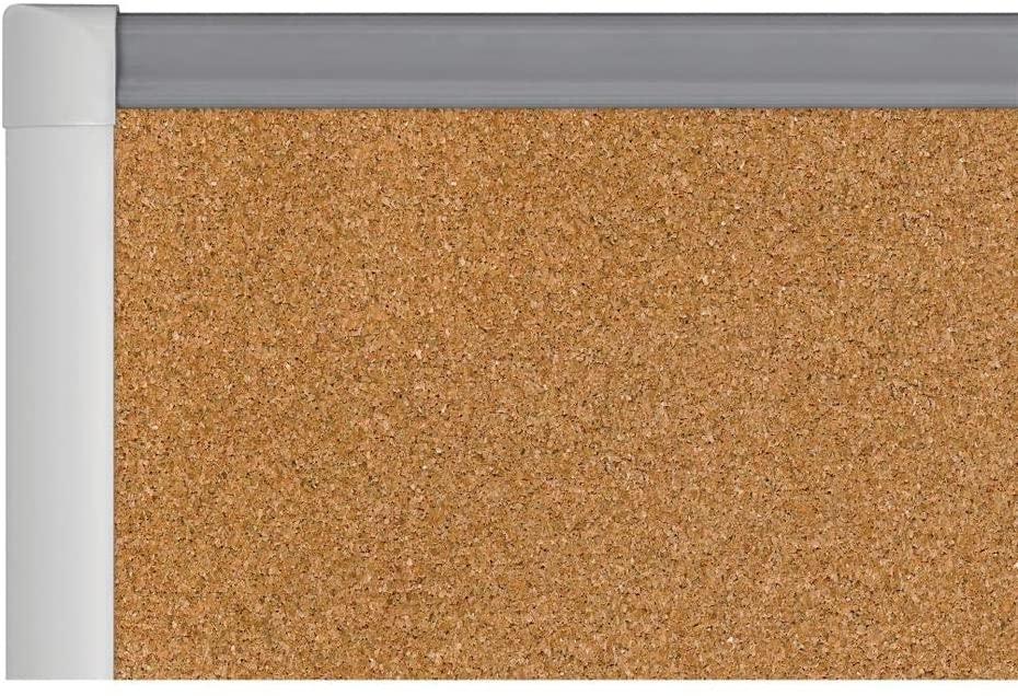 Balt Smartest Companion Natural Cork Tack Board - 4'x8'