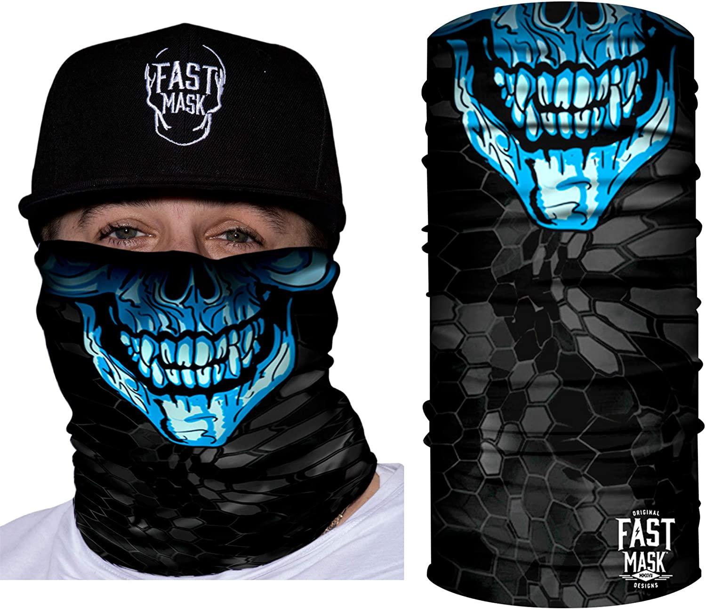 Tubular Face Mask Bandana Breathable Fabric, 100% Polyester Microfiber Face Protection – Fast Mask