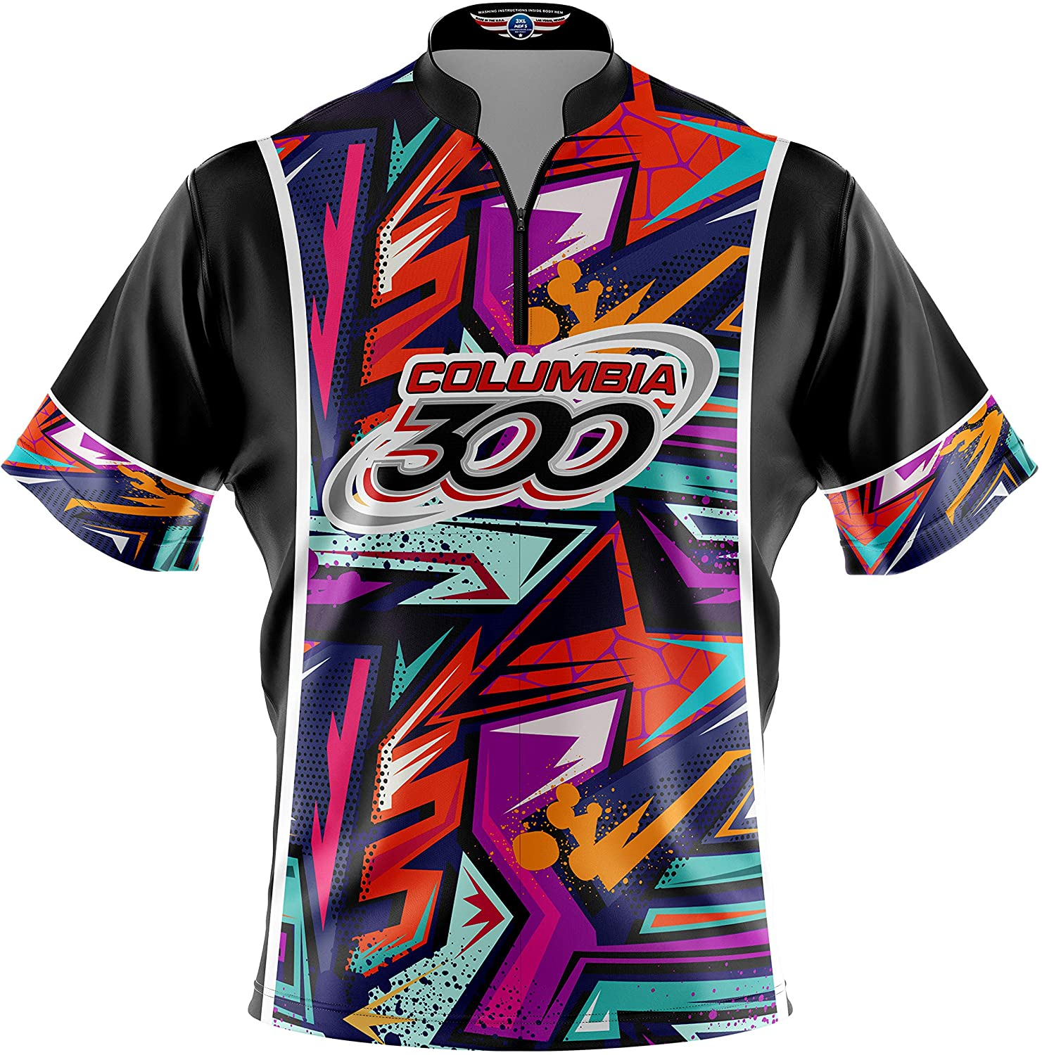 Logo Infusion Bowling Dye-Sublimated Jersey (Sash Collar) - Columbia 300 Style 0312